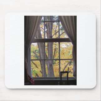 Fall Day at the tavern Mouse Pad