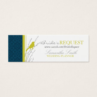 Fall Elegance Skinny Business Card