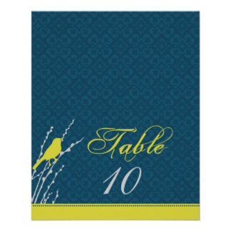 Fall Elegance Table Card 2
