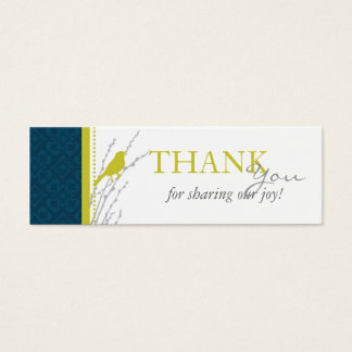 Fall Elegance TY Skinny Card