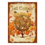 Fall Equinox Pagan Wiccan Greeting Card