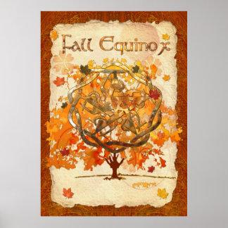 Fall Equinox Pagan Wiccan Print