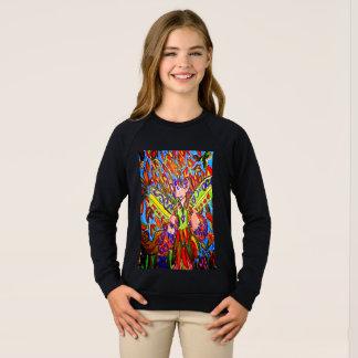 fall fairy art sweatshirt
