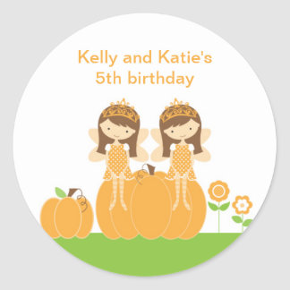 Fall Fairy Princess Stickers