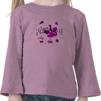 Fall Fairy Toddler Long Sleeve T-Shirt (Pink)