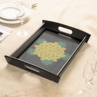 Fall Flower 1 Serving Tray