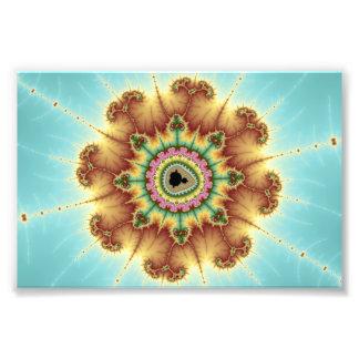 Fall Flower - Fractal Art Photo Print
