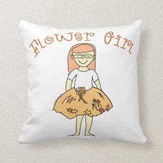 Fall Flower Girl Cushions