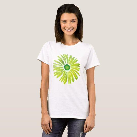 Fall Flower green T-Shirt