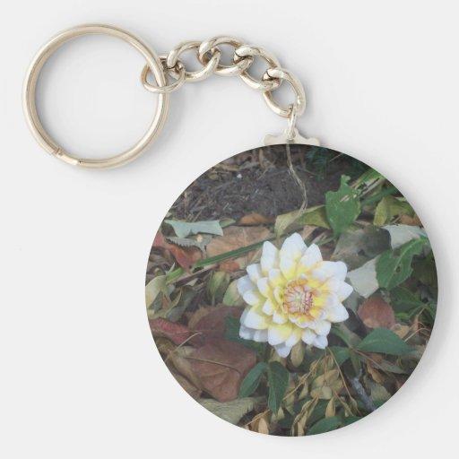 Fall Flower Keychains