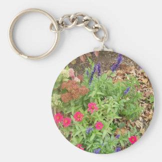 Fall Flower Keychain