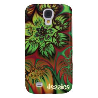 Fall Flowers Galaxy S4 Case