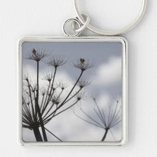 Fall Flowers Keychain