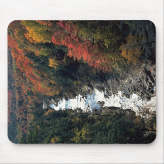 Fall foliage at Queechee Gorge, Queechee, Vermont, Mouse Pads