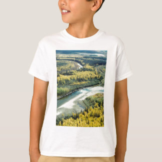 FALL FOLIAGE BRIGHTENS THE LANDSCAPE T-SHIRTS