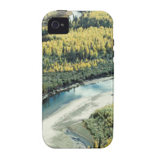 FALL FOLIAGE BRIGHTENS THE LANDSCAPE VIBE iPhone 4 CASE