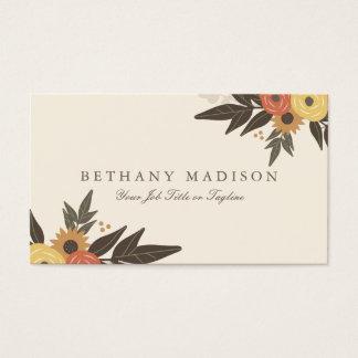 Fall Foliage Business Cards