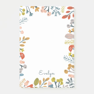 Fall Foliage Post-it Notes