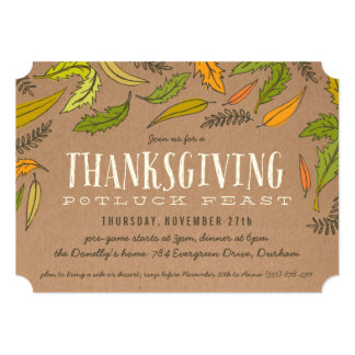 Browse the Thanksgiving Invitation Collection and personalise by colour, design or style.
