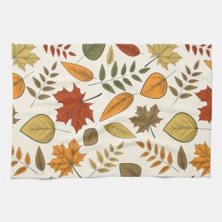 Fall Foliage Thanksgiving Kitchen Towel