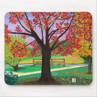 Fall for Autumn mousepad
