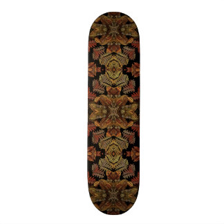 Fall Fractal Pattern Skate Board