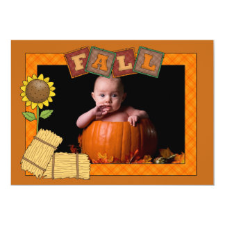 Fall Frame - Photo Holiday Card