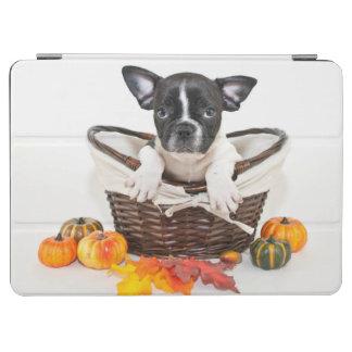 Fall French Bulldog iPad Air Cover