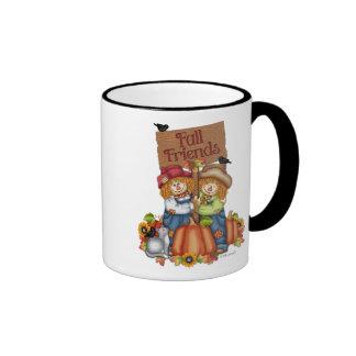 Fall Friends are Best! Ringer Mug