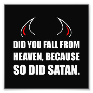 Fall From Heaven Satan Art Photo
