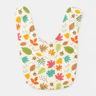Fall Fun baby bib