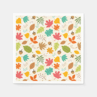 Fall Fun paper napkins Disposable Napkin