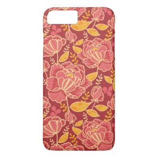 Fall garden vertical pattern background iPhone 8 plus/7 plus case