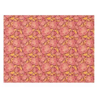 Fall garden vertical pattern background tablecloth