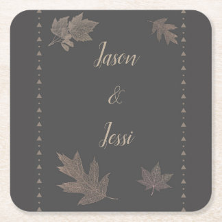 Fall Golden Leaves Coaster