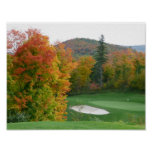 Fall Golf poster