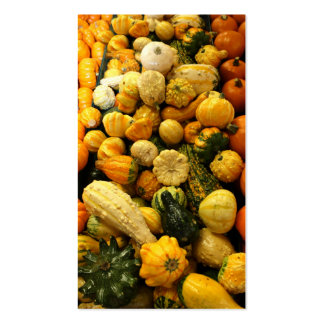 Fall Gourds Business Cards