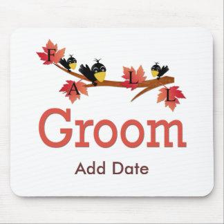 Fall Groom Mousepad