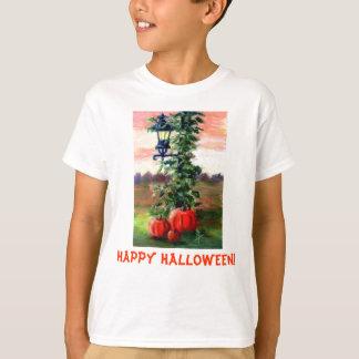 Fall Happy Halloween Girls Tshirt
