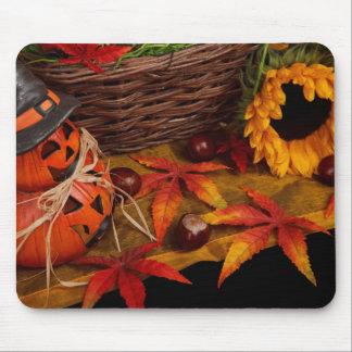 Fall Harvest Autumn Halloween Mousepad