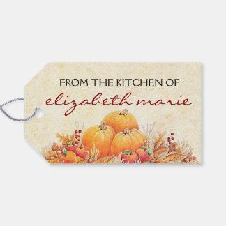Fall Harvest Pumpkins Gift Tags
