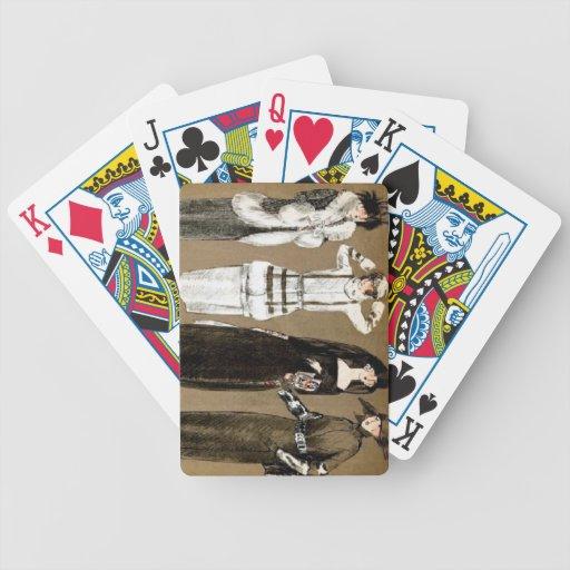Fall Haute Couture 1920s Illustration Card Decks