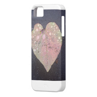 Fall heart leaf phone cover iPhone 5 cover