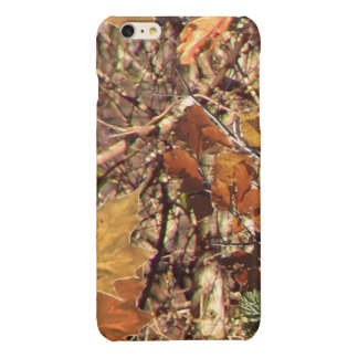 Fall Hunt Camo Background Ready to Customize iPhone 6 Plus Case