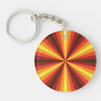 Fall Illusion Acrylic Keychain