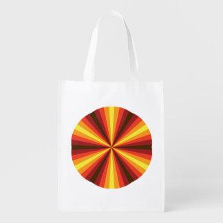 Fall Illusion Reusable Grocery Bag