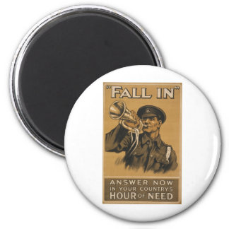 Fall In Answer Now 6 Cm Round Magnet