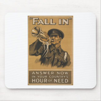 Fall In Answer Now Mouse Pad