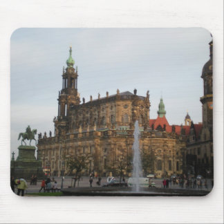Fall in Germany Mouse Pad