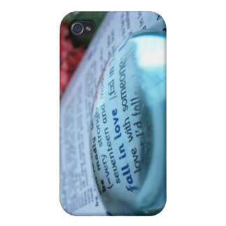 Fall in Love Magnified Covers For iPhone 4